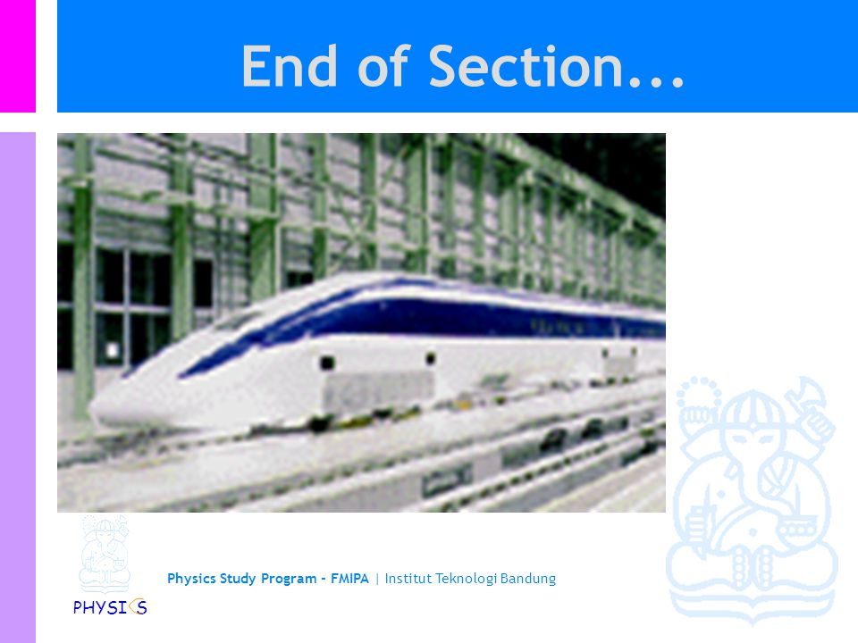 End of Section...