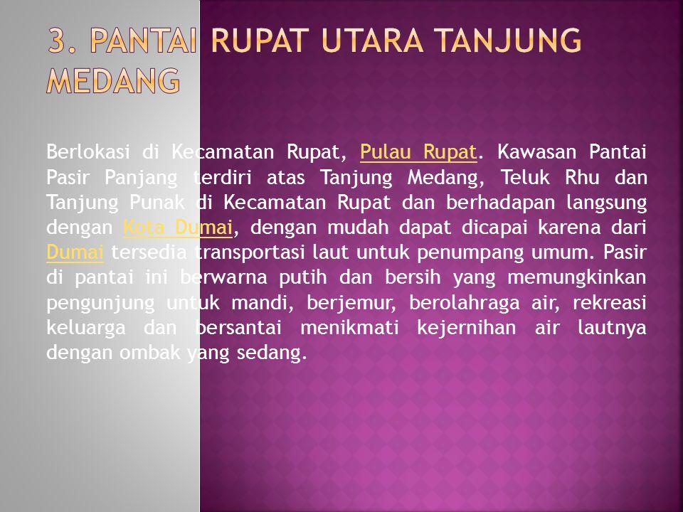 3. Pantai Rupat Utara Tanjung Medang