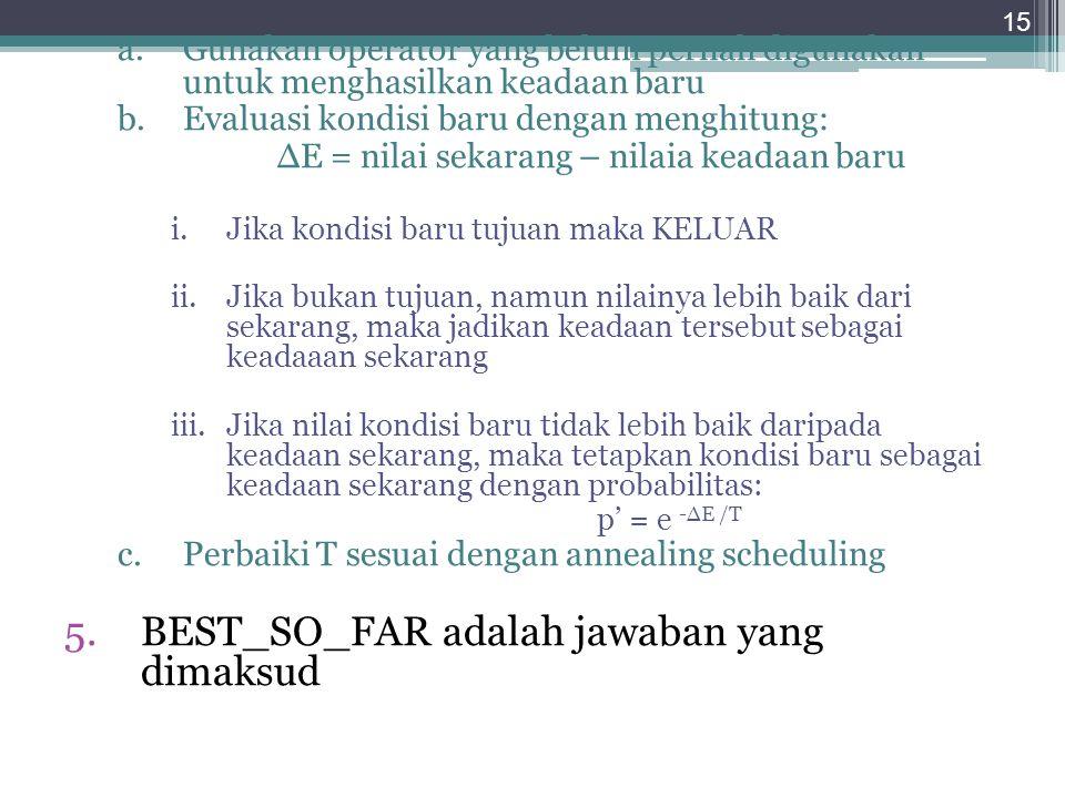 BEST_SO_FAR adalah jawaban yang dimaksud