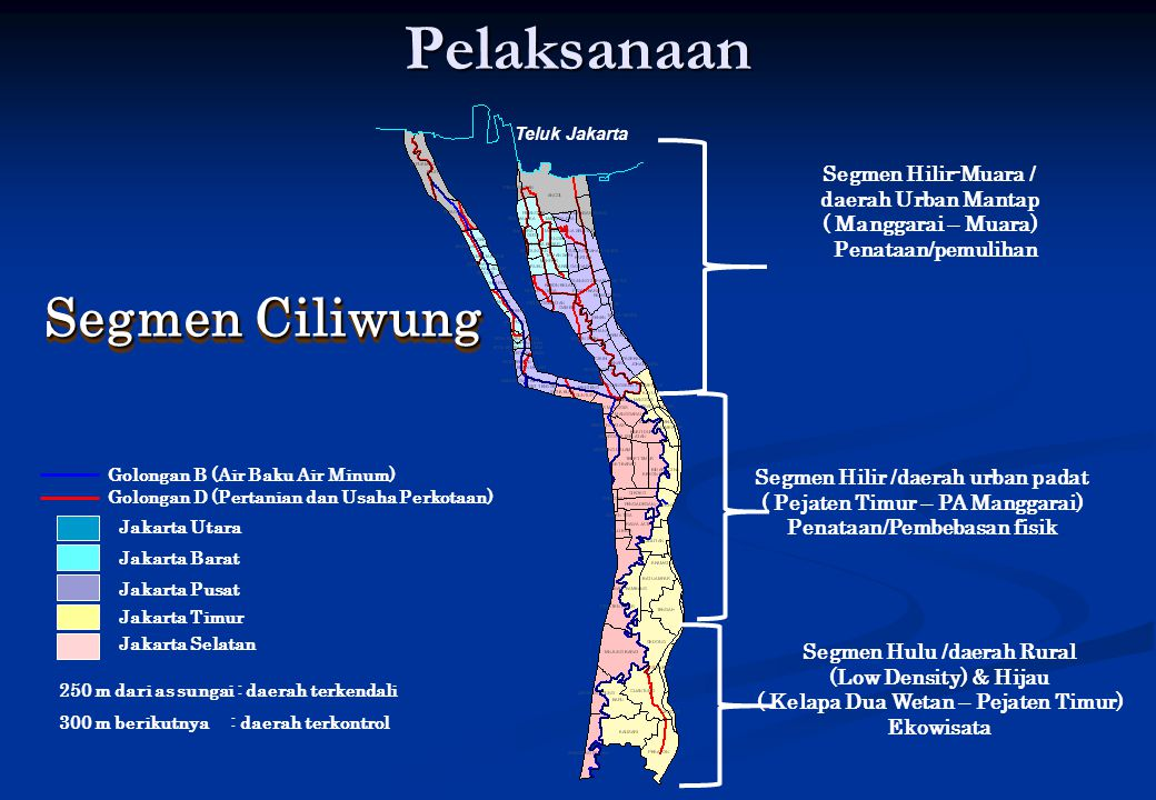 Pelaksanaan Segmen Ciliwung Segmen Hilir-Muara / daerah Urban Mantap