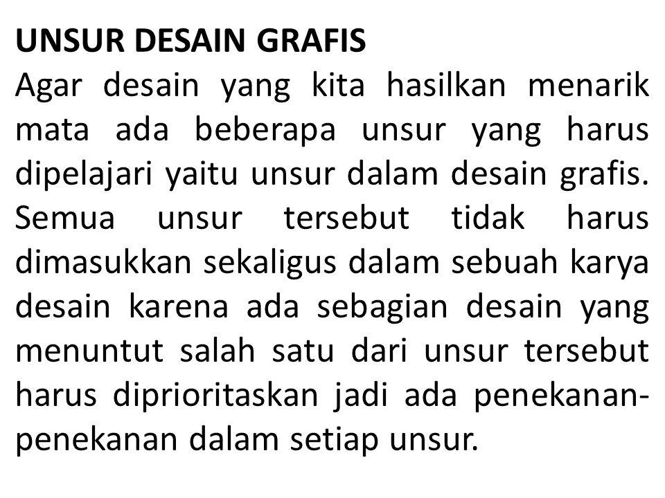 UNSUR DESAIN GRAFIS