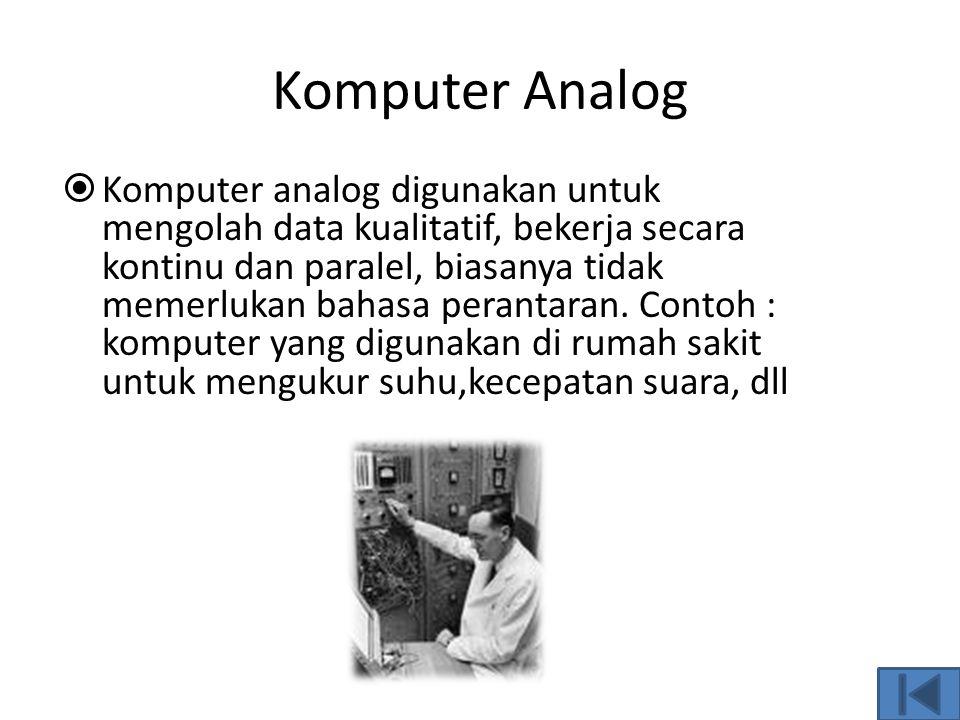 Komputer Analog