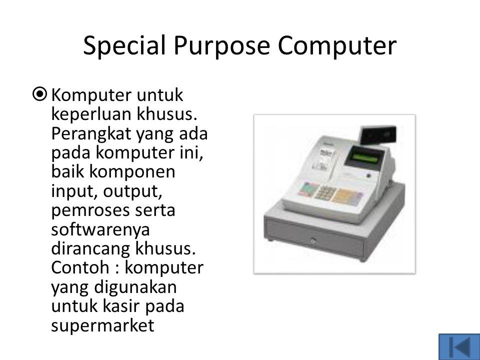 Special Purpose Computer