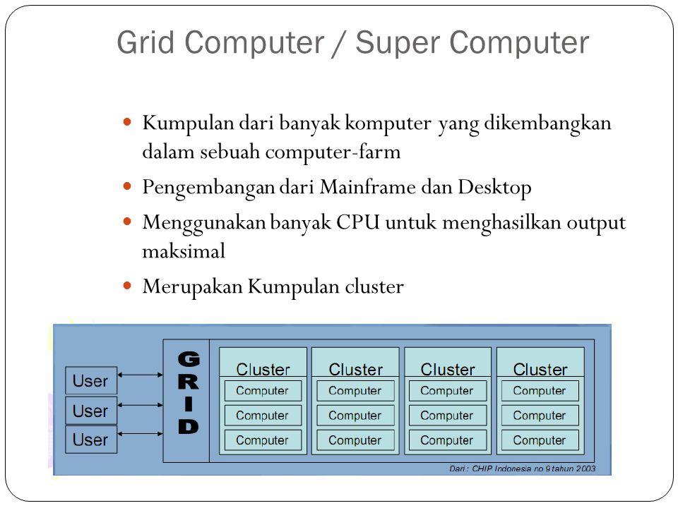Grid Computer / Super Computer
