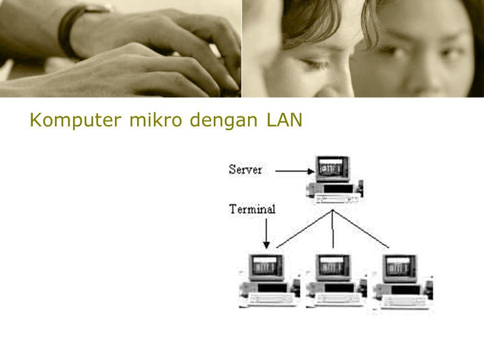 Komputer mikro dengan LAN