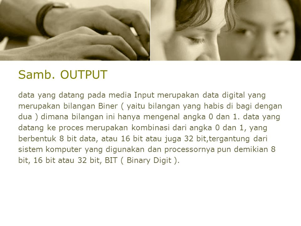 Samb. OUTPUT