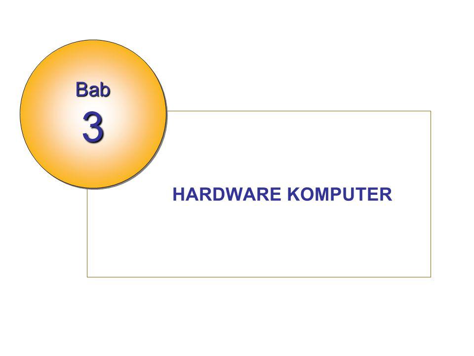 Bab 3 HARDWARE KOMPUTER