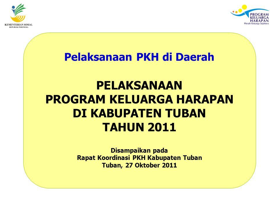 PELAKSANAAN PROGRAM KELUARGA HARAPAN DI KABUPATEN TUBAN TAHUN 2011