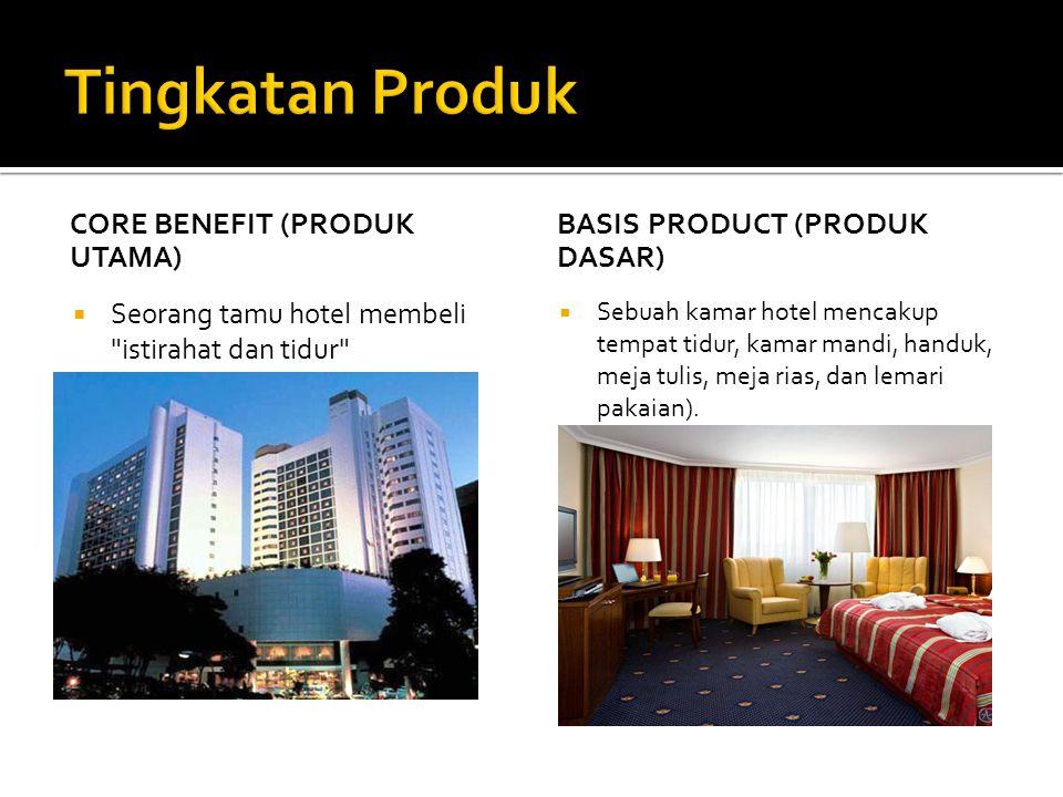 Tingkatan Produk Core Benefit (Produk Utama)
