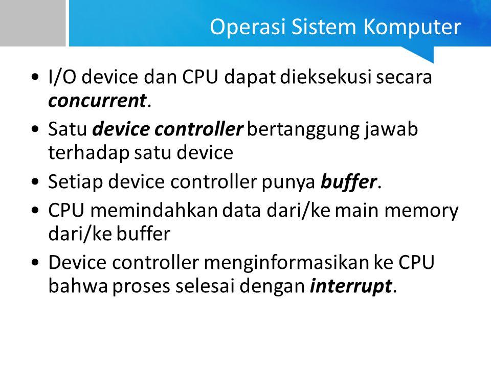 Operasi Sistem Komputer
