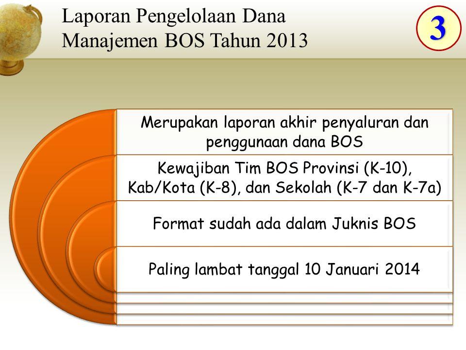 3 Laporan Pengelolaan Dana Manajemen BOS Tahun 2013