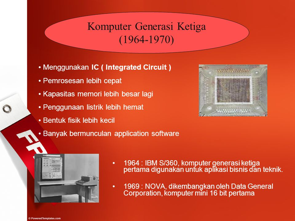 Komputer Generasi Ketiga (1964-1970)