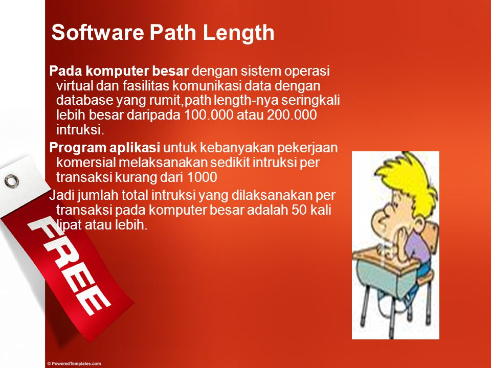 Software Path Length