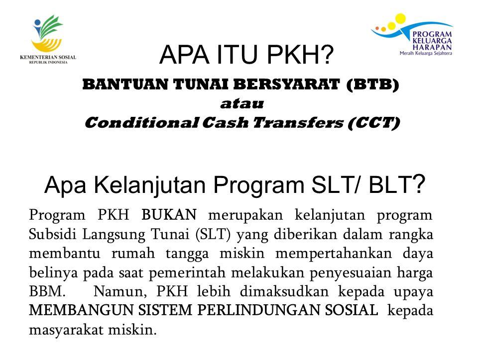 Apa Kelanjutan Program SLT/ BLT