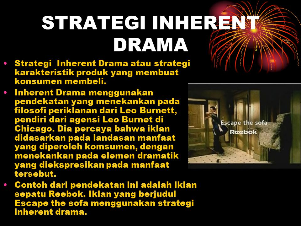 STRATEGI INHERENT DRAMA