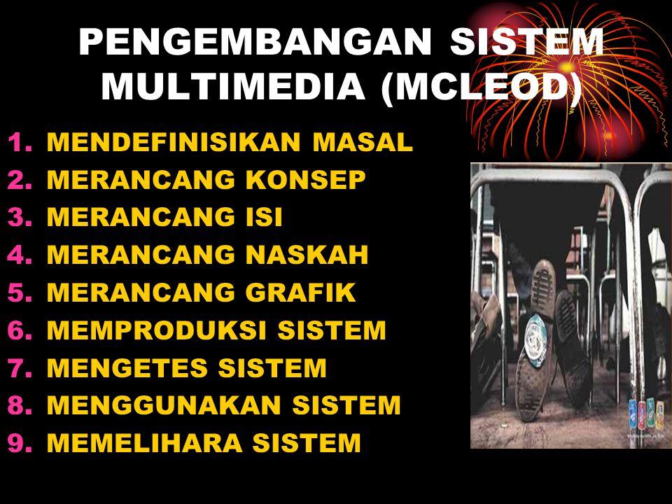 PENGEMBANGAN SISTEM MULTIMEDIA (MCLEOD)