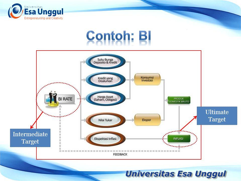 Contoh: BI Ultimate Target Intermediate Target