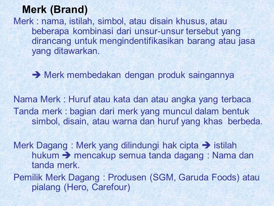 Merk (Brand)