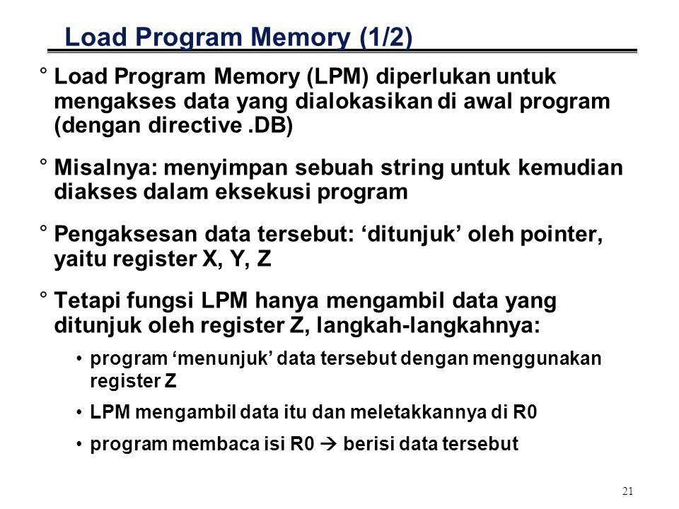 Load Program Memory (1/2)