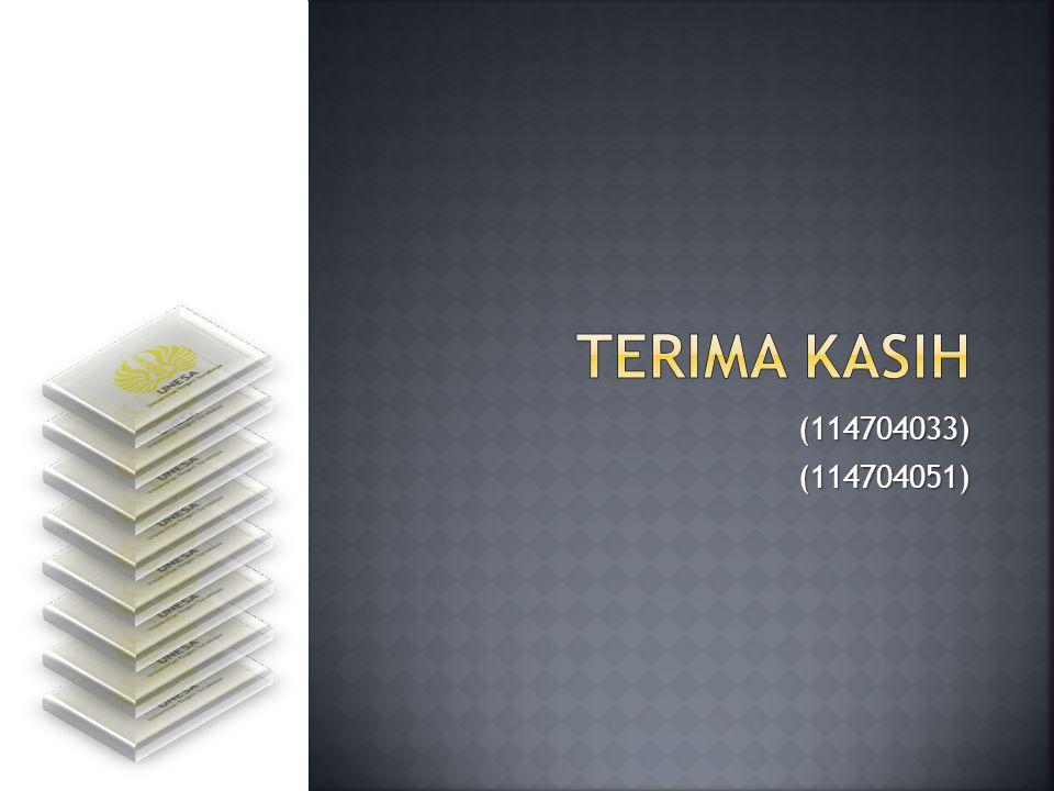TERIMA KASIH (114704033) (114704051)