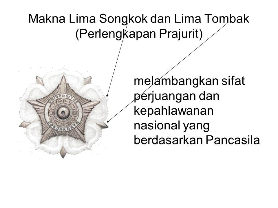 Makna Lima Songkok dan Lima Tombak (Perlengkapan Prajurit)