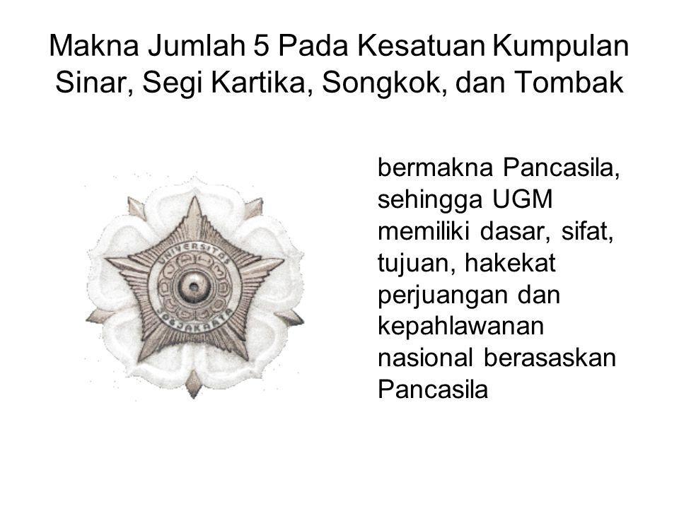 Makna Jumlah 5 Pada Kesatuan Kumpulan Sinar, Segi Kartika, Songkok, dan Tombak