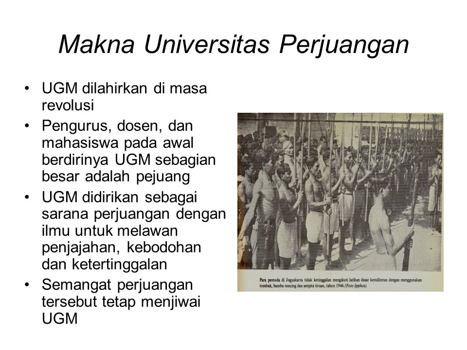 Makna Universitas Perjuangan