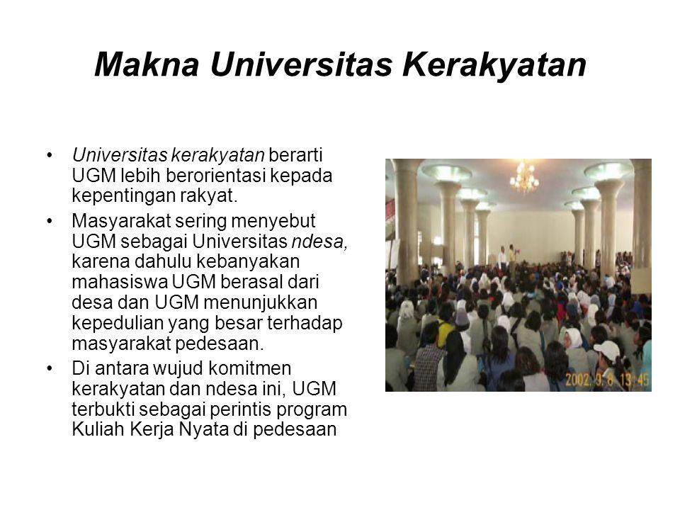 Makna Universitas Kerakyatan