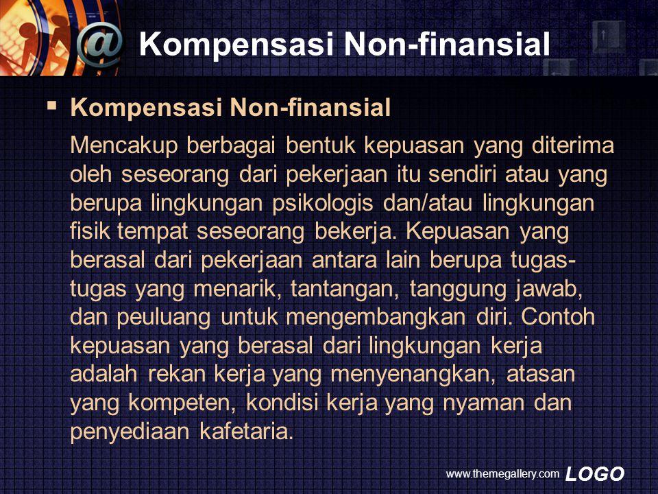 Kompensasi Non-finansial