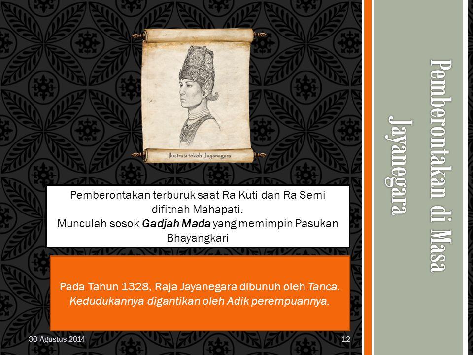 Pemberontakan di Masa Jayanegara