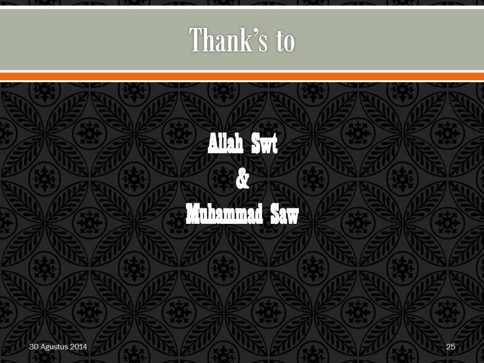 Allah Swt & Muhammad Saw