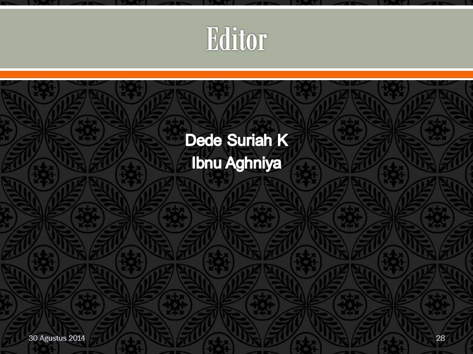 Dede Suriah K Ibnu Aghniya