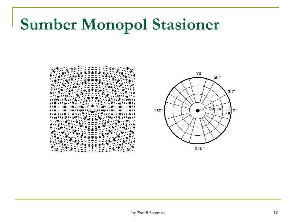 Sumber Monopol Stasioner