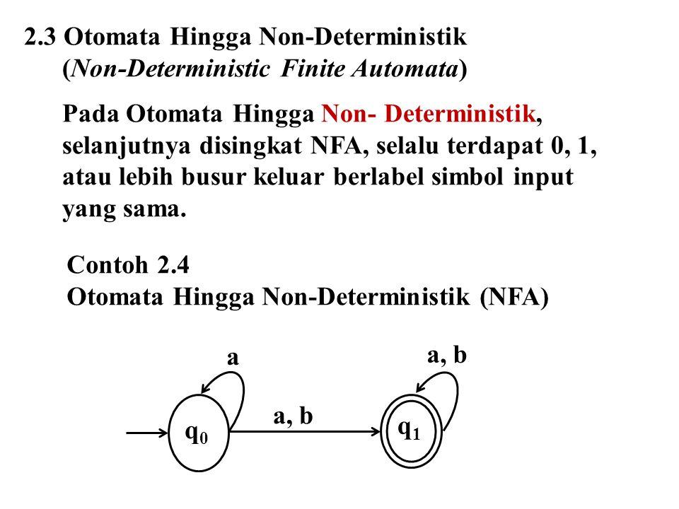2.3 Otomata Hingga Non-Deterministik