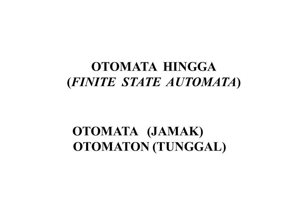 (FINITE STATE AUTOMATA)
