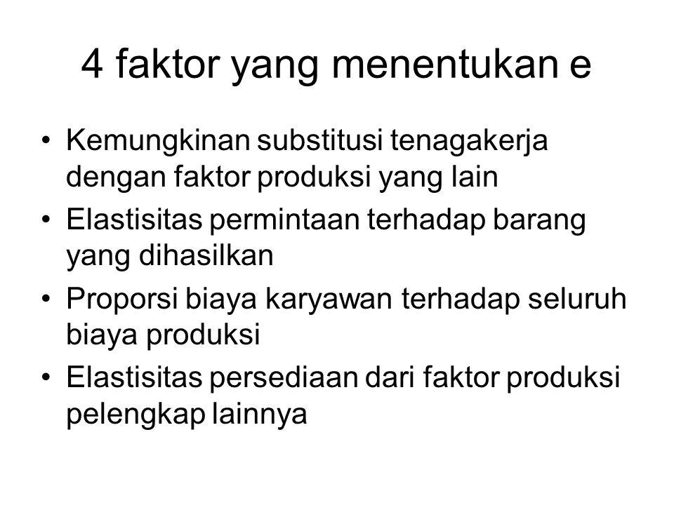 4 faktor yang menentukan e