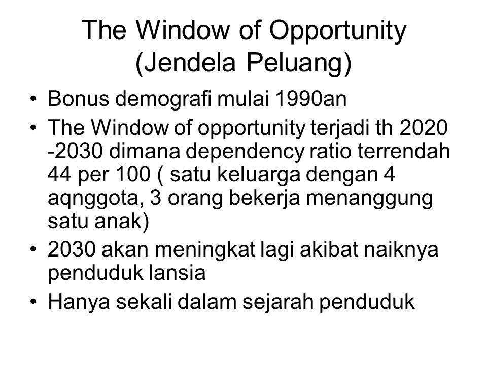 The Window of Opportunity (Jendela Peluang)
