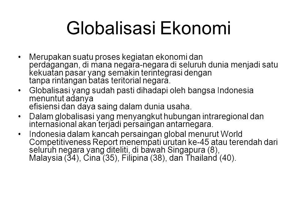 Globalisasi Ekonomi