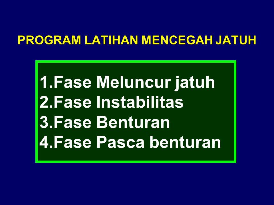 PROGRAM LATIHAN MENCEGAH JATUH