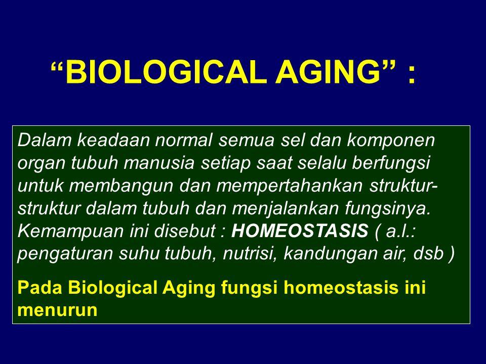 BIOLOGICAL AGING :
