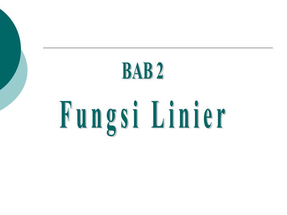 BAB 2 Fungsi Linier