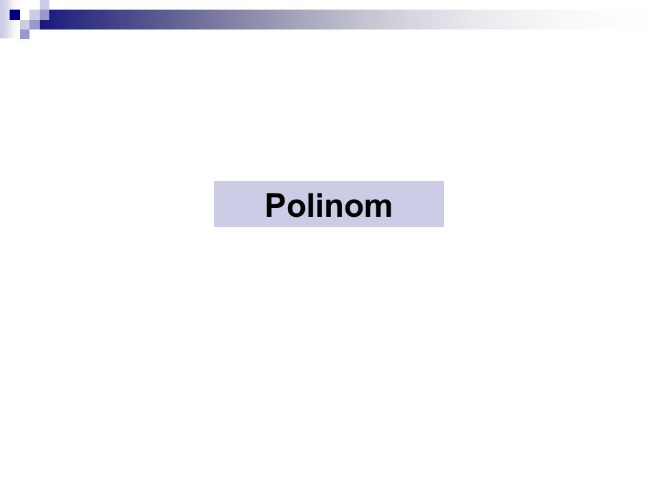 Polinom