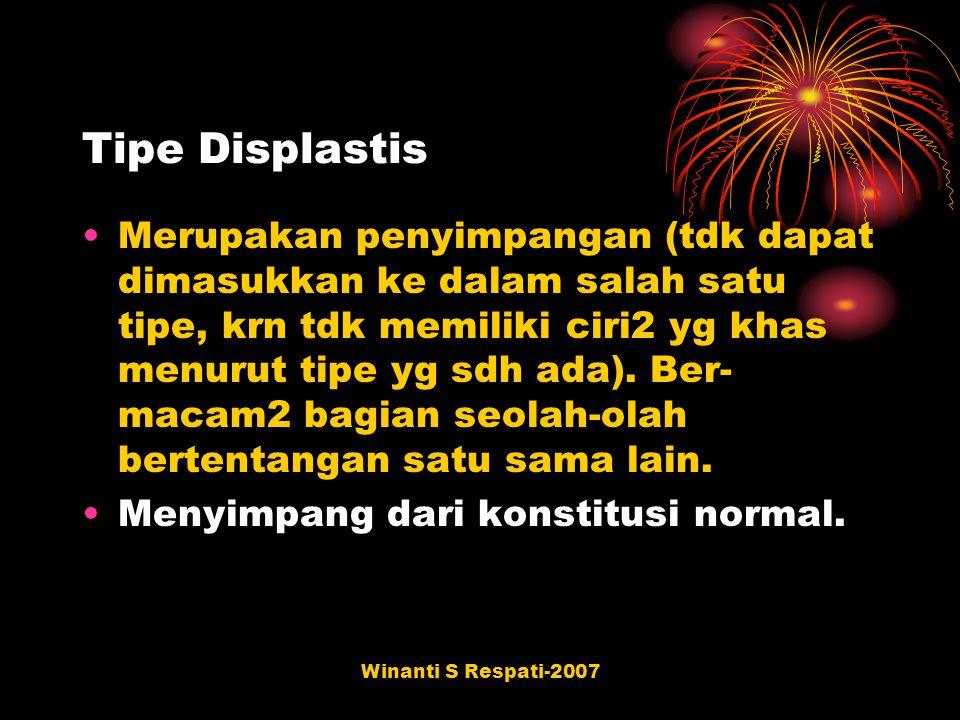 Tipe Displastis