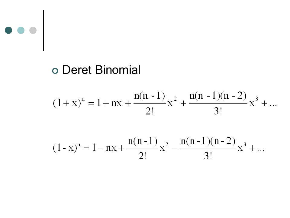 Deret Binomial