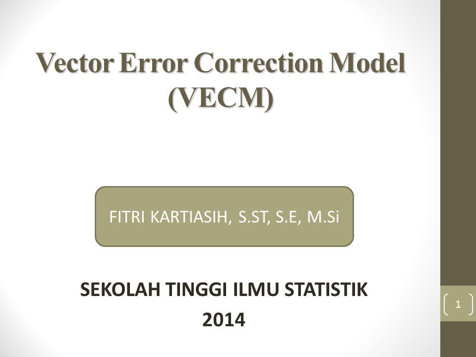 Vector Error Correction Model (VECM)