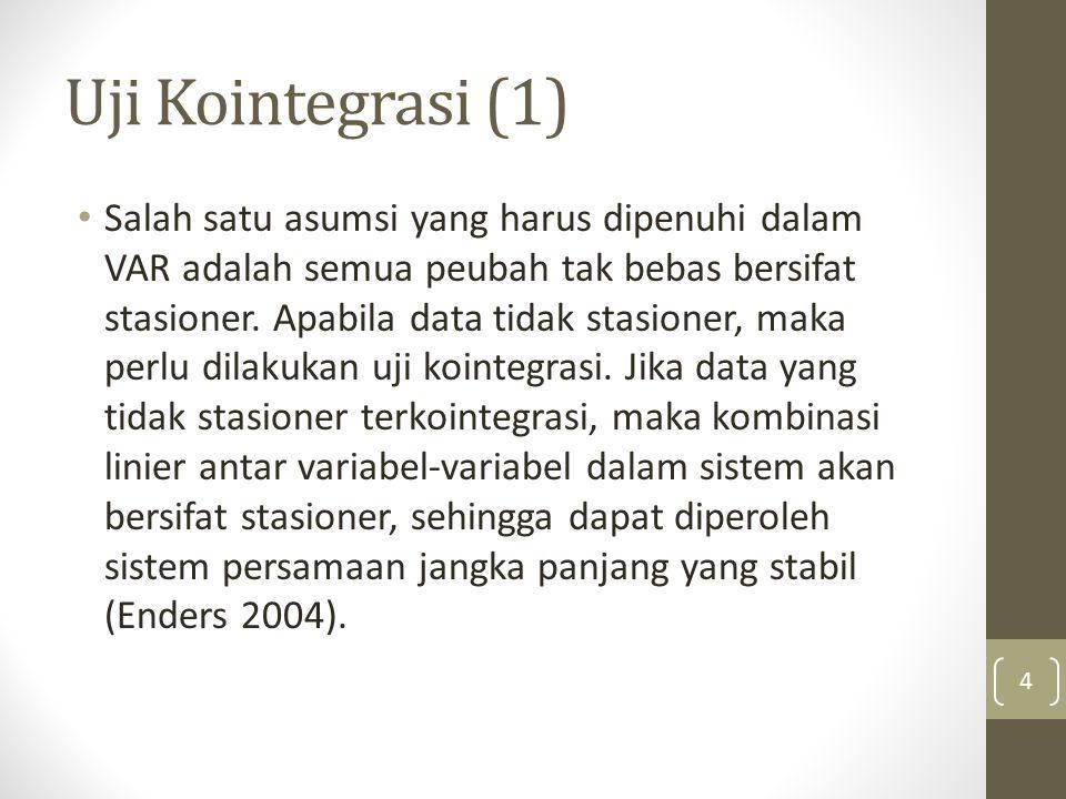 Uji Kointegrasi (1)