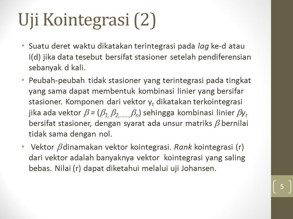 Uji Kointegrasi (2)