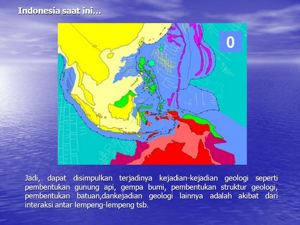 Indonesia saat ini…