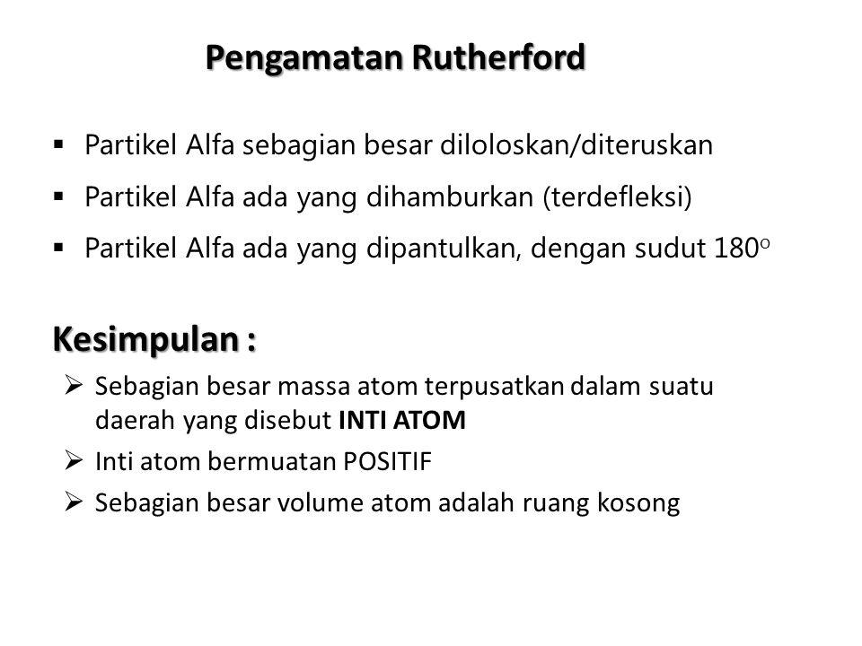 Pengamatan Rutherford
