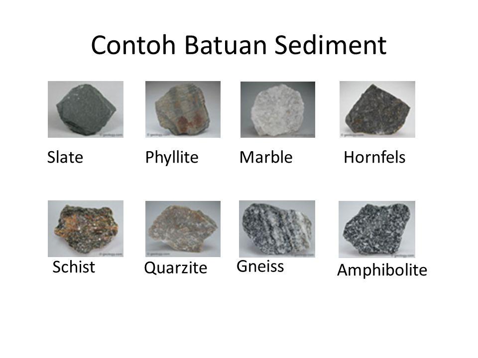 Contoh Batuan Sediment